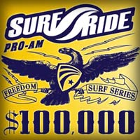 Surf Ride kicks off the $100,000 Freedom Pro-AM Surf Series by Vans January 23rd at Seaside Reef