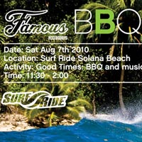BBQ + Music + Famous Surf Accessories