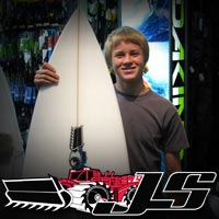 JS Surfboard Give Away Winner - Nick from Vista, CA