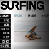 New Face For Surfing Magazine Online