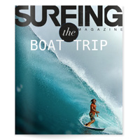 Surfing Magazine Lightbox - The Boat Trip