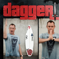 The Dagger Surfboard From Channel Islands