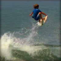 Channel Islands Surfboard's Nate Tyler surfing in Mainland Mexico