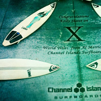 Kelly Slater Signature Surfboard