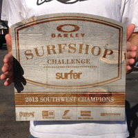 Surf Ride Oceanside Victorious At Oakley Surf Shop Challenge 2013