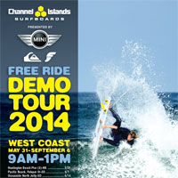 Channel Islands Demo Tour